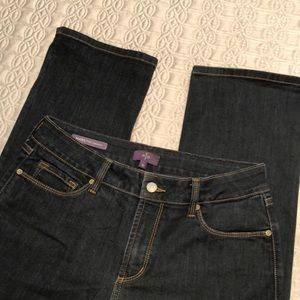 Not Your Daughters Marilyn Straight Jeans. Size 10